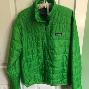 Patagonia Nano Puff. Quarter Zip Jacket